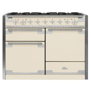 AGA Elise 48 Dual Fuel Ivory with Chrome trim