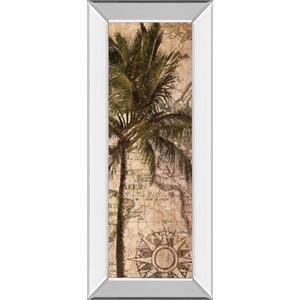 """Exotic Destination I"" By Katrina Craven Mirror Framed Print Wall Art"