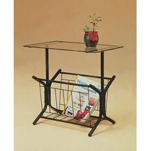 TABLE RACK (BLACK)