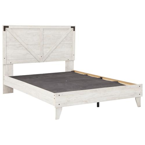 Shawburn Full Panel Platform Bed