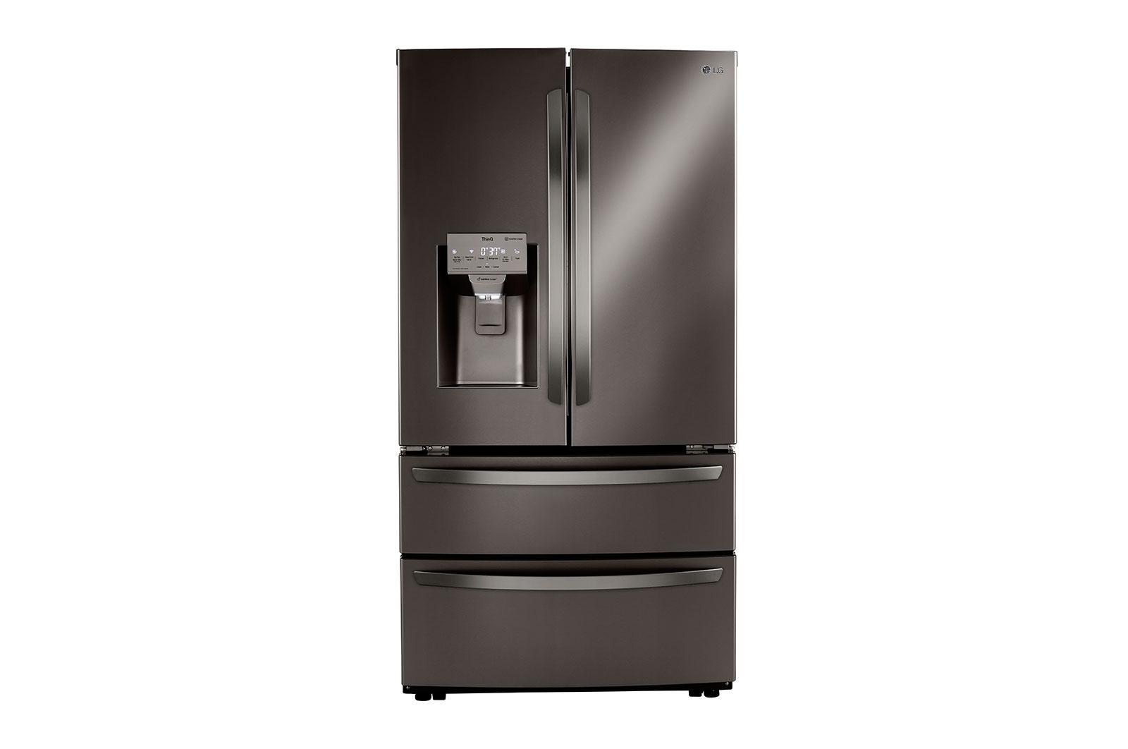 LG Appliances28 Cu Ft. Smart Double Freezer Refrigerator With Craft Ice™