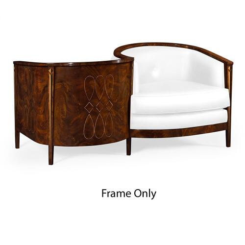 Knightsbridge Loveseat Frame Only