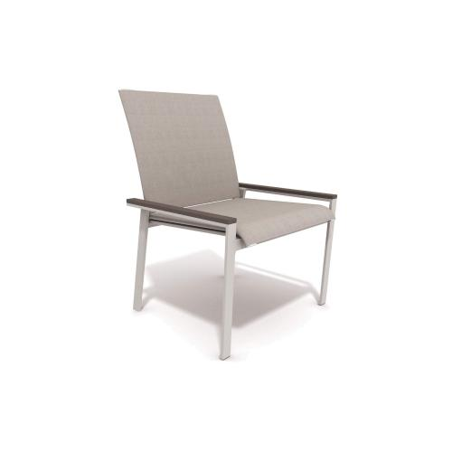 Echo Sling Stacking Armless Side Chair (2pk)