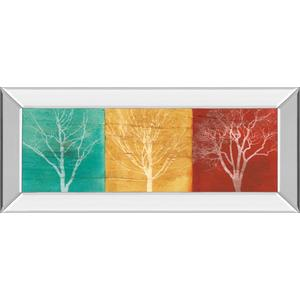 """""""Fallen Leaves"""" By Stephane Fontaine Mirror Framed Print Wall Art"""