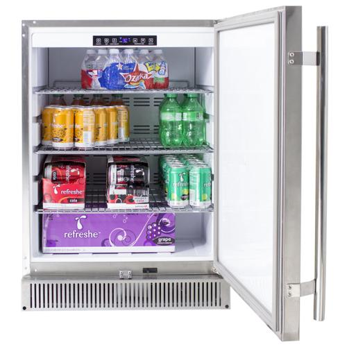 """Product Image - Blaze Outdoor Rated Stainless 24"""" Refrigerator 5.2 cu. ft."""