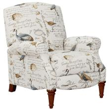 Bird Script Pushback Recliner