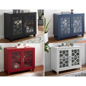 """Tuscany Accent cabinet Red 38""""X15.75""""X32"""""""