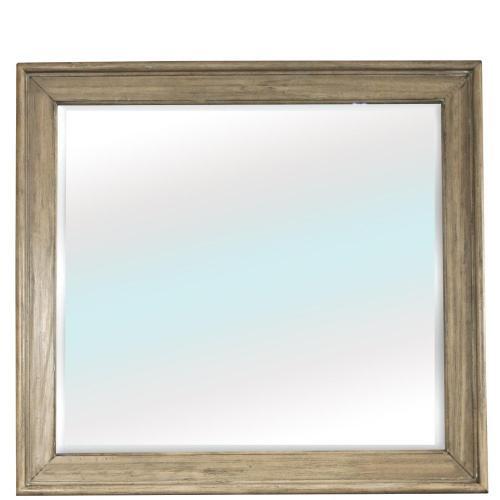 Corinne - Landscape Mirror - Sun-drenched Acacia Finish