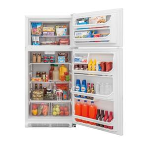 SCRATCH & DENT UNIT  Frigidaire 18 Cu. Ft. Top Freezer Refrigerator