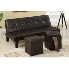 View Product - Adjustable Sofa + 2pcs Ottoman