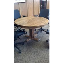 See Details - Gallatin Classic Round Pedestal Table
