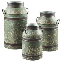 Elke Milk Can (set of 3)