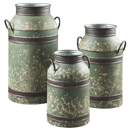 Milk Can Set (3/CN)