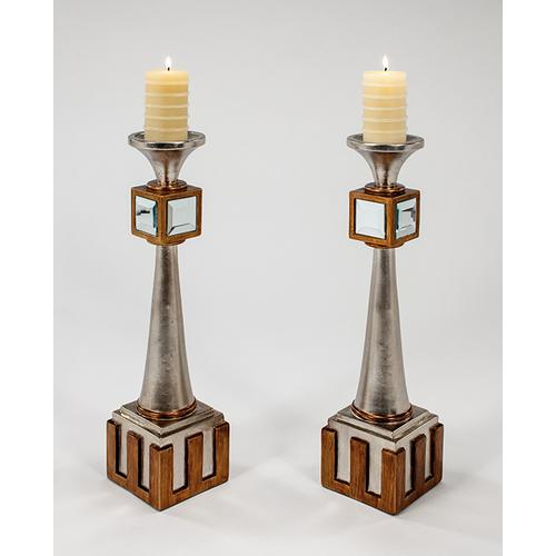 """Artmax - Candle Holder 5x5x20.5"""""""