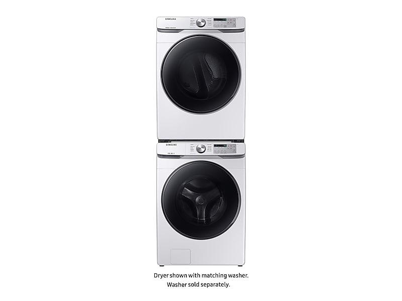 7.5 cu. ft. Electric Dryer with Steam Sanitize+ in White Photo #4