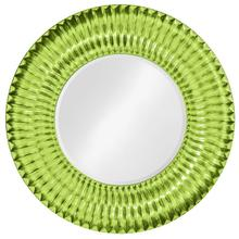 Sao Paulo Mirror - Glossy Green