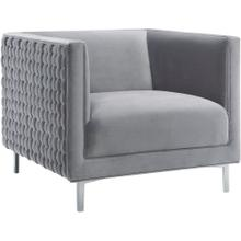 Sal Grey Woven Chair