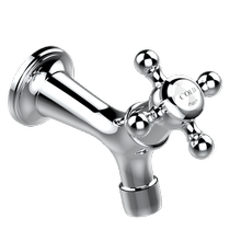"""See Details - Wall mounted 1/2"""" tap, cold"""