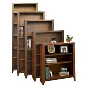 Bookcase w/ 1 fixed & 2 adj shelves