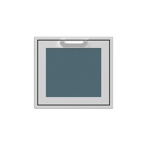 """Hestan - 24"""" Hestan Outdoor Single Access Door - AGADR Series - Pacific-fog"""