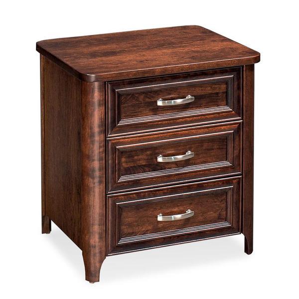 See Details - Belvedere 3-Drawer Nightstand