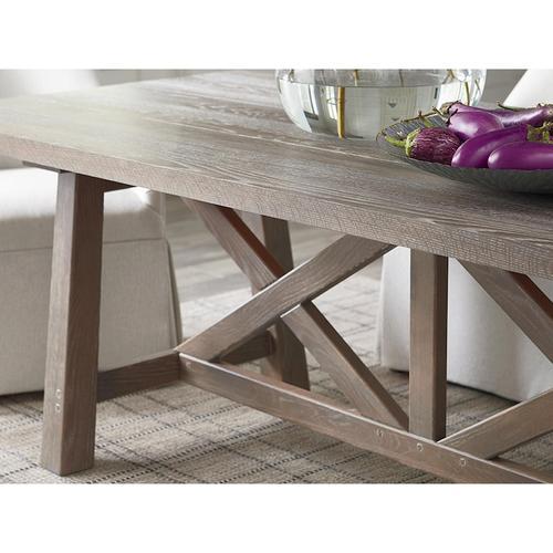 "Bench*Made Oak 90"" Artisan Table"