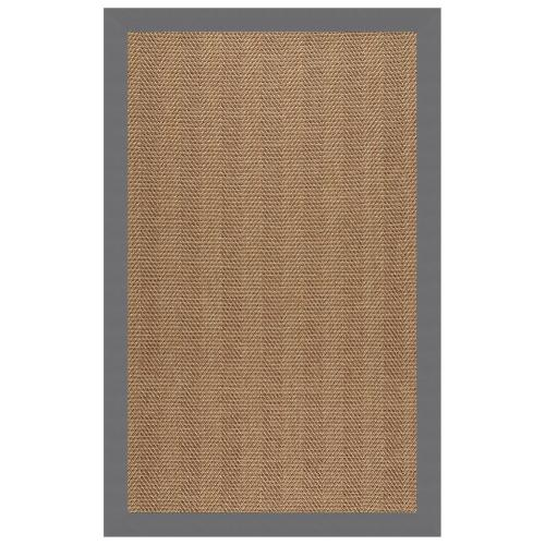 """Capel Rugs - Islamorada-Herringbone Canvas Charcoal - Rectangle - 24"""" x 36"""""""