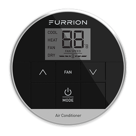 Furrion CHILL%C2%AE Single Zone Basic Wall Thermostat - Black