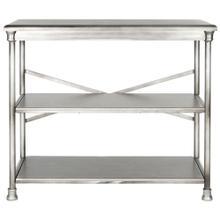 Jamison Medium Bookcase - Dark Silver