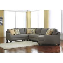 Chamberly 4-piece Sectional With Cuddler