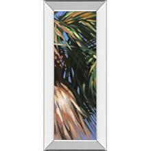 """Wild Palm Il"" By Suzanne Wilkins Mirror Framed Print Wall Art"