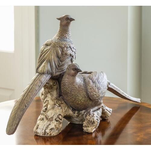 Resting Pheasants