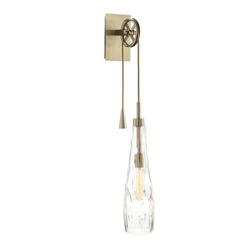Handblown Glass Single-Light Wall Sconce