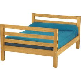 Tall double lower bed, extra-long