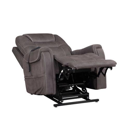 Gallery - Brisbane Power Lift Chair w/Three Heat Zones, Stone