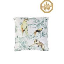 "66835926FR - DAINTREE Pillow Tropical Print, Polyester Fill, 18""x18"""