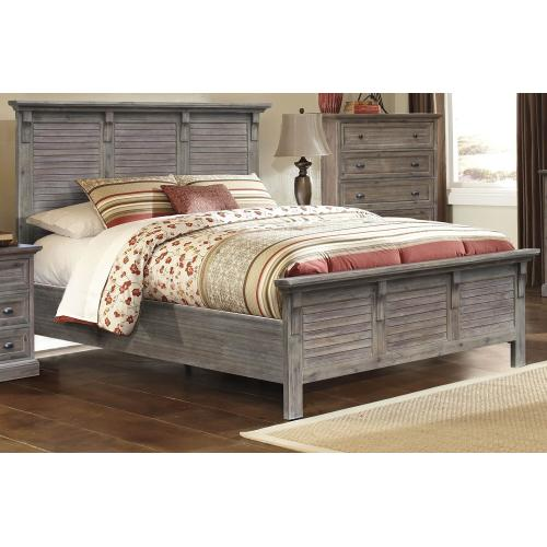 Queen Bed Frame - Solstice Gray