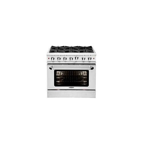"""Capital - Culinarian 36"""" Gas Manual Clean Range"""