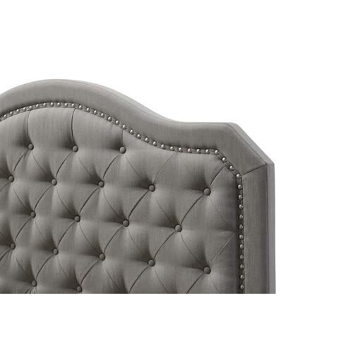 Kieran King Upholstered Bed, Soft Gray B228-12hbfbr-03