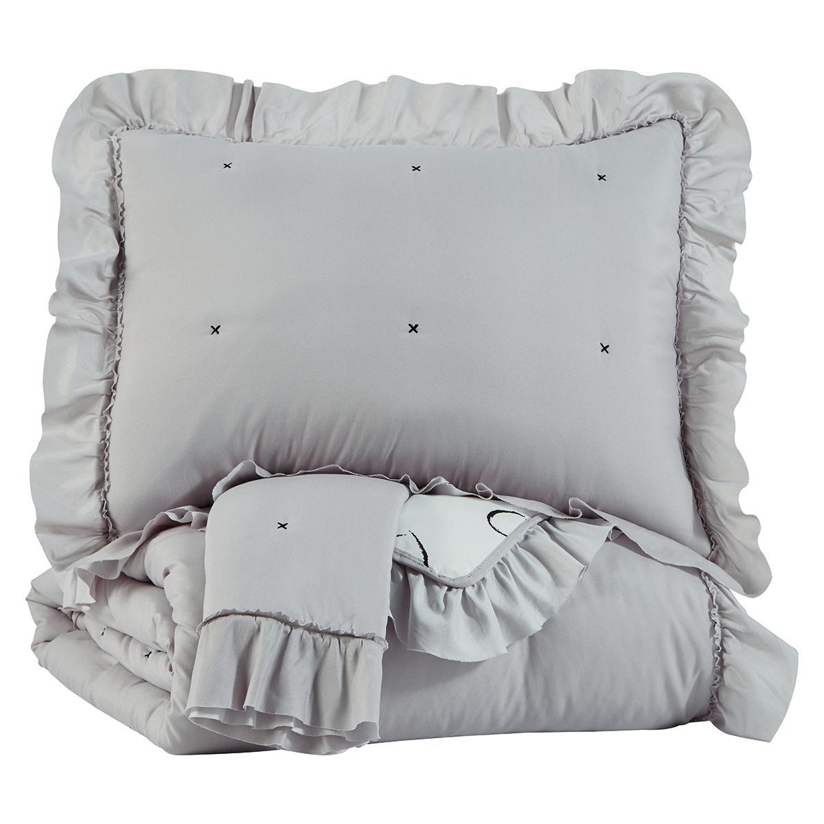 See Details - Hartlen Full Comforter Set