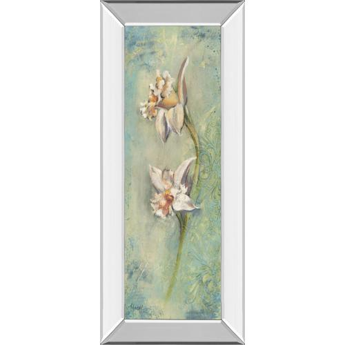 """Floral XIl"" By Lee Hazel Mirror Framed Print Wall Art"