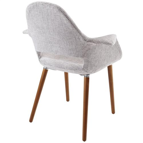 Aegis Dining Armchair in Light Gray