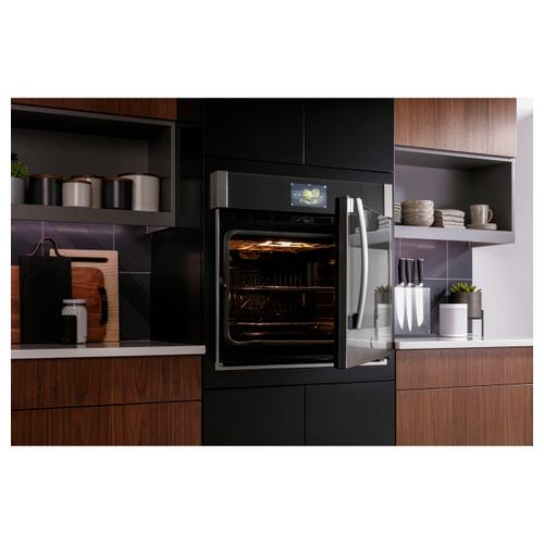 "GE Profile™ 30"" Smart Built-In Convection Single Wall Oven with Right-Hand Side-Swing Doors"