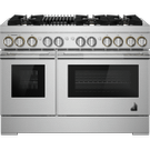 """RISE™ 48"""" Dual-Fuel Professional Range with Gas Grill, RISE Product Image"""