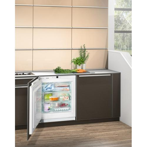 "24"" Integrable under-worktop freezer with NoFrost"