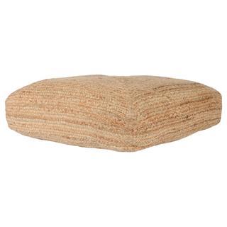See Details - Aveiro Jute Natural Floor Cushion 28x28x5