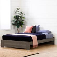 Gravity - Platform Bed, Gray Maple, Queen