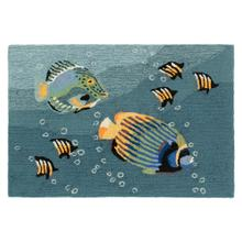 Liora Manne Frontporch Aquarium Indoor/Outdoor Rug Ocean