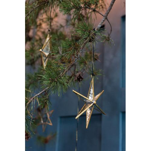 """Product Image - Northern Star Ornament (Size:6""""x 1.75""""x 6.5"""", Color:Gold)"""