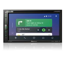 "Multimedia DVD Receiver with 6.8"" WVGA Display, Apple CarPlay , Android Auto , Built-in Bluetooth ® , and SiriusXM-Ready"